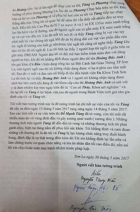 Nhan chung len tieng sau nghi van CSGT TP Son La truy duoi khien mot nguoi tu vong - Anh 2