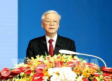 Tong Bi thu Nguyen Phu Trong: Quan he Viet - Lao 'mai mai vung ben hon nui, hon song' - Anh 1
