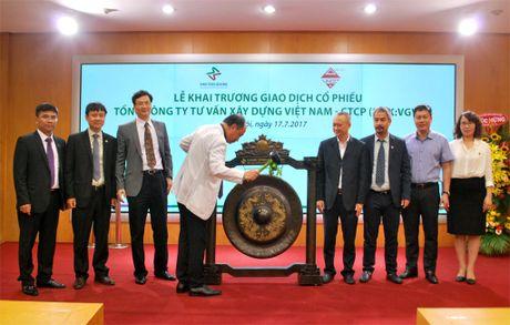 Khai truong phien giao dich dau tien co phieu Tong Cong ty Tu van Xay dung Viet Nam - CTCP - Anh 8
