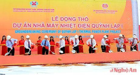 Cu tri de nghi cung cap thong tin ve tien do xay dung Nha may Nhiet dien Quynh Lap 1 - Anh 1