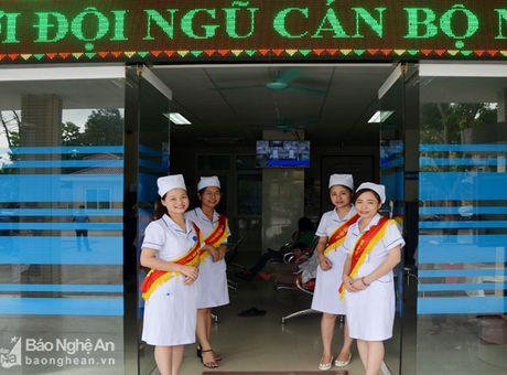 Phong kham Da khoa Truong Dai hoc Y khoa Vinh: Doi moi phong cach phuc vu benh nhan - Anh 1