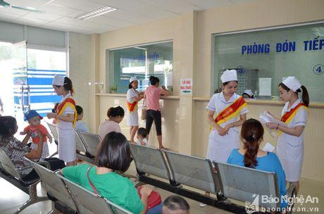 Phong kham Da khoa Truong Dai hoc Y khoa Vinh: Doi moi phong cach phuc vu benh nhan - Anh 2