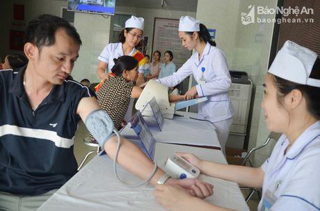 Phong kham Da khoa Truong Dai hoc Y khoa Vinh: Doi moi phong cach phuc vu benh nhan - Anh 4