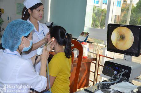 Phong kham Da khoa Truong Dai hoc Y khoa Vinh: Doi moi phong cach phuc vu benh nhan - Anh 7