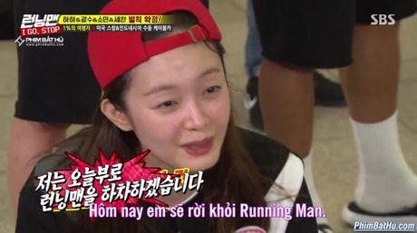 Qua kinh hai truoc cac thu thach, thanh vien moi Jang So Min tuyen bo muon roi khoi Running Man - Anh 2