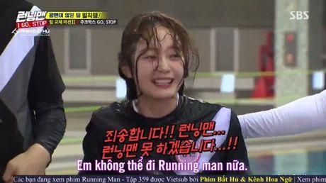 Qua kinh hai truoc cac thu thach, thanh vien moi Jang So Min tuyen bo muon roi khoi Running Man - Anh 3