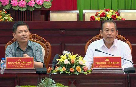 Pho Thu tuong Thuong truc Truong Hoa Binh lam viec tai tinh Soc Trang ve cong tac dan toc - Anh 1