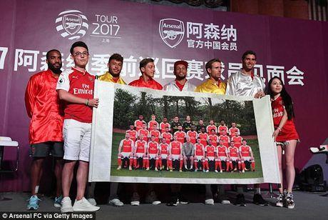 Sao Arsenal mua kung fu tai Trung Quoc - Anh 9