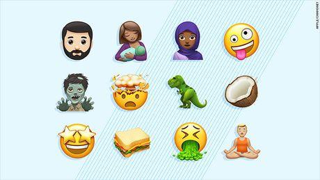 Apple cong bo bo emoji moi, lam nuc long cac 'ba me bim sua' - Anh 1
