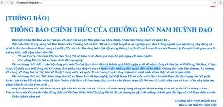 Nam Huynh Dao giai thich ve cong phu 'truyen dien' - Anh 1
