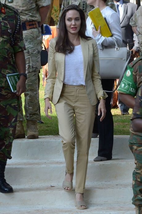 Thuong hieu thoi trang yeu thich cua Angelina Jolie - Anh 4