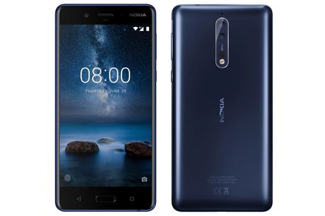 Lo hinh anh, cau hinh 'khung', gia ban Nokia 8 - Anh 1