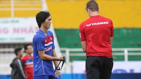 Tuan Anh nguy co lo tran dau vong loai U23 chau A - Anh 1
