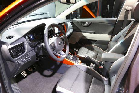 Hinh anh noi, ngoai that Kia Stonic - doi thu cua Hyundai Kona - Anh 11