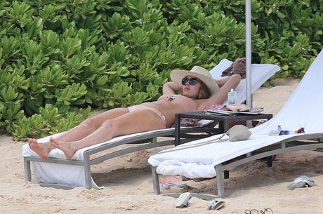 Jessica Alba bat ngo xac nhan mang bau lan thu 3 - Anh 1