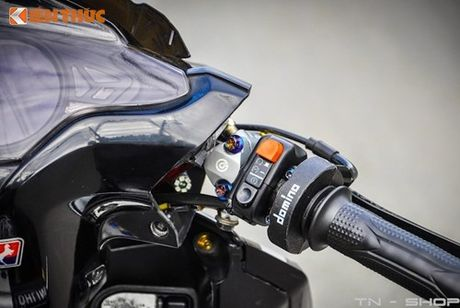 Honda Air Blade Thai do cuc 'doc' nho dan choi Viet - Anh 6