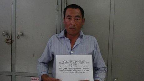 Ha Tinh: Bat giam doc trom tai san, tron truy na ve quy an - Anh 1