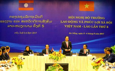 Viet Nam – Lao tang cuong hop tac dao tao nguon nhan luc - Anh 1