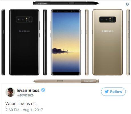 Concept Galaxy Note 8 dep o moi goc canh - Anh 2