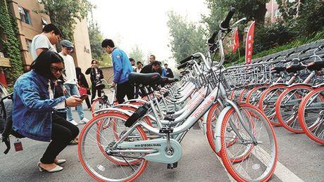 Trung Quoc that chat kiem soat dich vu bike-sharing - Anh 1