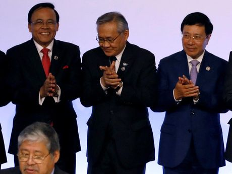 ASEAN thong qua du thao khung COC - Anh 1