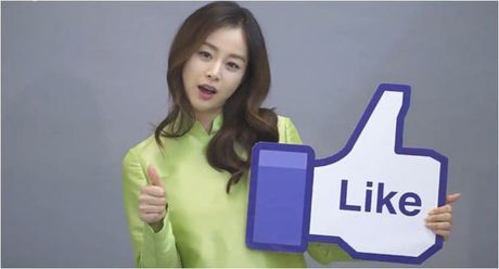 Lan dau mac ao dai, ba bau Kim Tae Hee xinh dep diu dang nhu phu nu Viet - Anh 7