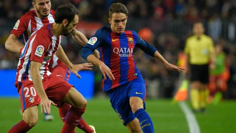 Barcelona - Gimnastic: Van chua het soc vi Neymar - Anh 1