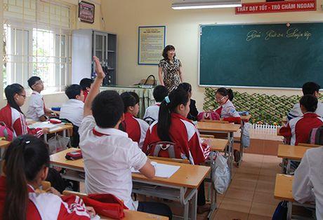 Nhieu dai hoc lay 15,5 diem nganh Su pham - Anh 1