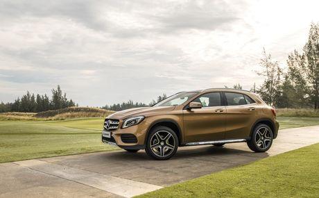 Mercedes-Benz gioi thieu GLA nang cap va C-Class moi - Anh 8