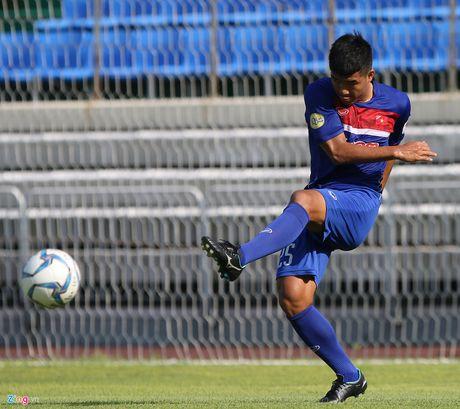 Mokpo vs U22 VN (1-4): Hong Duy, Duc Chinh lap cu dup - Anh 11