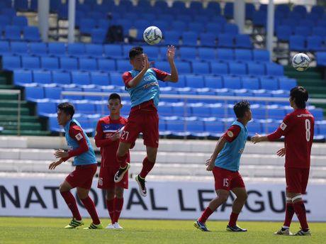 Mokpo vs U22 VN (1-4): Hong Duy, Duc Chinh lap cu dup - Anh 12