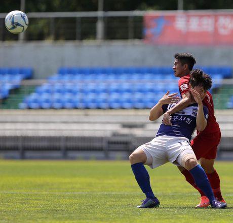 Mokpo vs U22 VN (1-4): Hong Duy, Duc Chinh lap cu dup - Anh 14