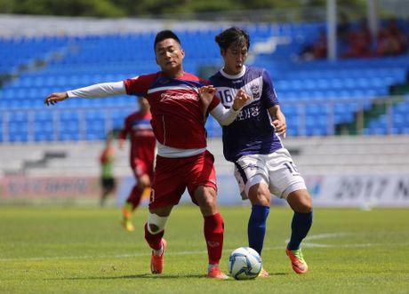 Mokpo vs U22 VN (1-4): Hong Duy, Duc Chinh lap cu dup - Anh 16