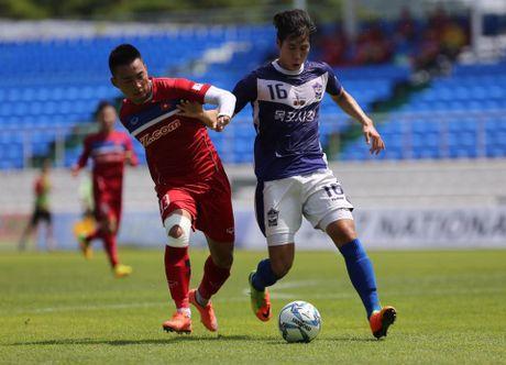 Mokpo vs U22 VN (1-4): Hong Duy, Duc Chinh lap cu dup - Anh 19