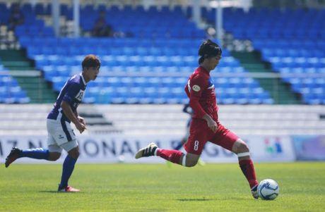 Mokpo vs U22 VN (1-4): Hong Duy, Duc Chinh lap cu dup - Anh 1