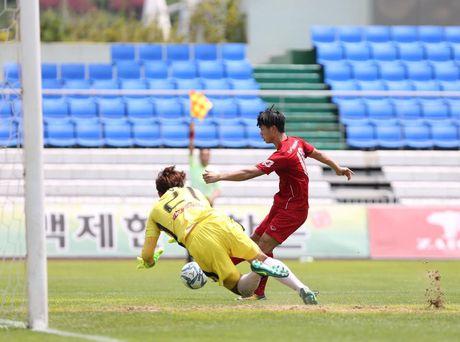 Mokpo vs U22 VN (1-4): Hong Duy, Duc Chinh lap cu dup - Anh 21