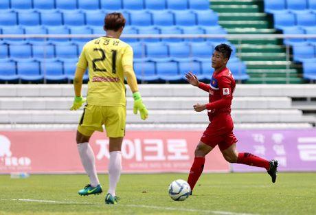 Mokpo vs U22 VN (1-4): Hong Duy, Duc Chinh lap cu dup - Anh 23