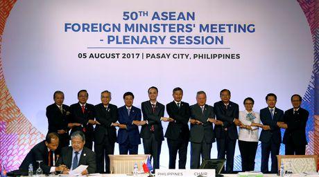 ASEAN: Cang thang hai mien Trieu Tien de doa hoa binh the gioi - Anh 1