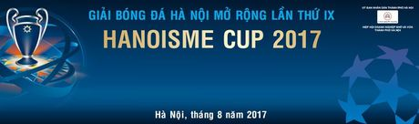Giai bong da Ha Noi mo rong lan thu IX - HANOISME CUP 2017 - Anh 1