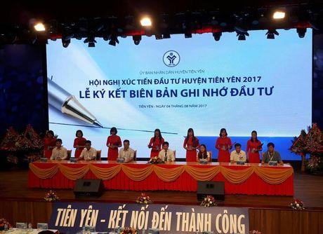 Quang Ninh: Nha dau tu muon rot gan 1.000 ty dong vao huyen Tien Yen - Anh 1