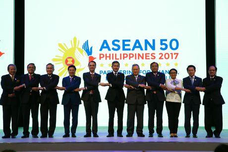 Khai mac Hoi nghi Ngoai truong ASEAN lan thu 50 (AMM-50) - Anh 1