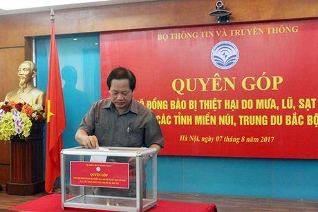 Them gan 2 ty dong ho tro nguoi dan vung lu Yen Bai, Dien Bien - Anh 1