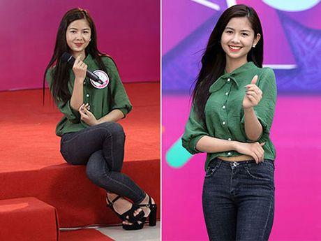 Hot girl 'chan khoeo, mat lac' gay bat ngo o cuoc thi Miss Teen - Anh 1