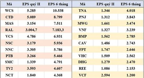 Nhung doanh nghiep co loi nhuan nghin ty, EPS cao ngat nguong trong 6 thang dau nam - Anh 3