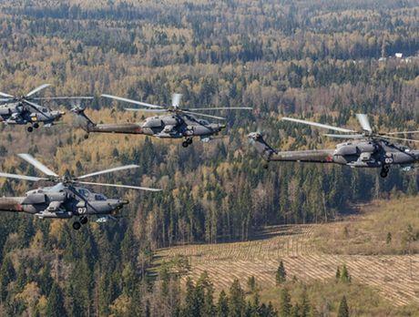 'Sieu xe tang bay' Mi-28 Nga the hien nhat nhoa tai Syria, phuong Tay mung ra mat - Anh 12