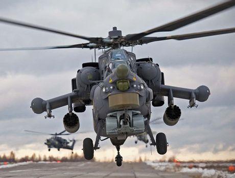 'Sieu xe tang bay' Mi-28 Nga the hien nhat nhoa tai Syria, phuong Tay mung ra mat - Anh 14