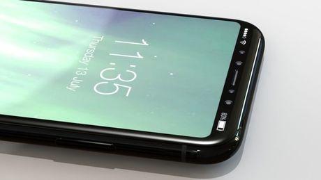 Cam bien khuon mat tren iPhone 8 co the nhan dien ca khi may dang nam tren ban? - Anh 1