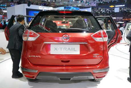 Chi tiet Nissan X-Trail phien ban cao cap nhat tai Viet Nam - Anh 1