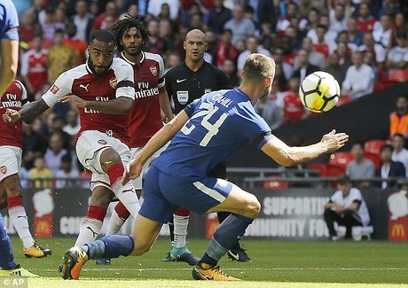 'Ban ha' Chelsea, Arsenal gianh sieu cup Anh - Anh 1