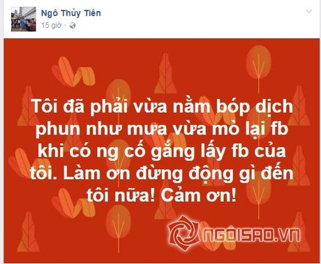 Ngo Thuy Tien hon ho khoe anh sau khi hut mo toan than day ghe ron - Anh 4